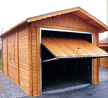 Garage in legno 33 mm